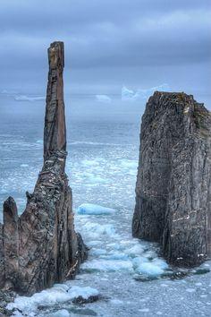 Cable John Cove, Newfoundland and Labrador, Canada - The dramatic.