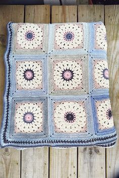 Inspiration :: Circle in a square motif by Therese Hagstedt; no specific pattern.   . . . . ღTrish W ~ http://www.pinterest.com/trishw/ . . . . #crochet
