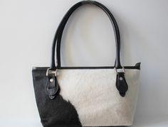 Cowhide handbag. Design by Quebecuir. CA$199