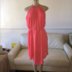 Beautiful midi  asymmetrical dress by Mossimo This excellent piece is just amazingly beautiful very classy seductive sexy and comfortable could be worn with or with out waist tie Mossimo Supply Co Dresses Asymmetrical