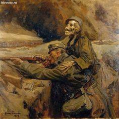 Soldier and Death / Солдат и смерть #WW1