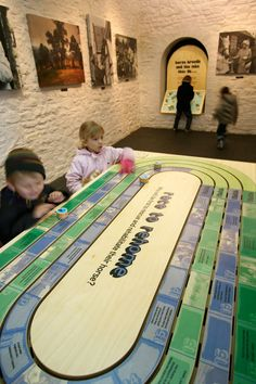 Smith and Jones Design Consultants, HorseWorld Visitor Centre Bristol, Hands on activities, Interactive displays for children, visitor centre design