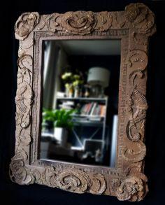 Elegant Recycled Cardboard Frame  by Robert Carroll