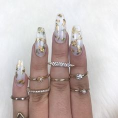 nails short Clear Foil Press on Nails Coffin Nails Matte, Dark Nails, White Nails, Red Nail, Bling Nails, Glitter Nails, Transparent Nails, Jelly Nails, Finger