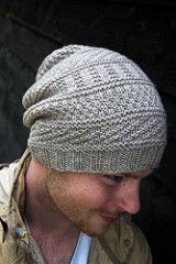 Dustland hat by westknits-- I want a slouchy hat exactly like this! I even like the gray. My crochet/knitting isn't awesome but I may try to make this. Pattern is not for free. Knitting Designs, Knitting Projects, Knit Or Crochet, Crochet Hats, How To Purl Knit, Knit Purl, Slouchy Hat, Knitting Accessories, Knitting Yarn