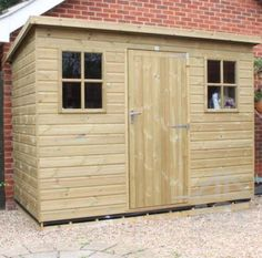 Berkshire Pent Shed Pressure Treated