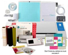 New V2 Silhouette Cameo Digital Cutting Machine Vinyl Kit Tools Free Cover | eBay