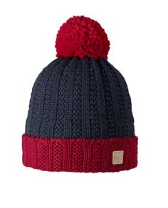 Barts Liam Beanie Hat in Red The Barts Liam Beanie Hat in Red is gorgeously warm for the cooler months ahead. The cuff and bobble, in a matc...