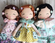 """Adorable SpunCandy Dolls!!  - SpunCandy Dolls ~ Omaha, NE (@spuncandydolls) on Instagram: """"Pssst .. these three cuties are available right now in the SpunCandy Shop!  #spuncandydolls…"""""""