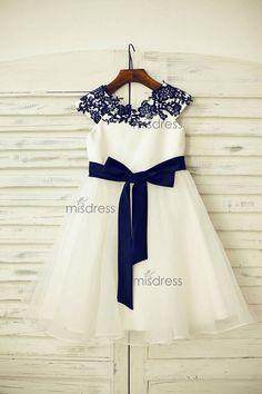 019e8e0f7d74 16 Best Satin Flower Girl Dresses images