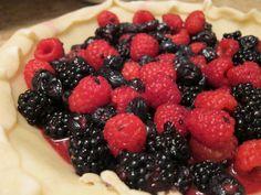 Triple Berry Crumble Pie