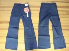 Men's Seafarer or Navdung Old Style Bell-Bottom Dungarees