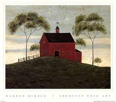 We have 353 Red Barn Art prints and posters including works by Ramona Murdock, Dan Campanelli, Paul Detlefsen, and more. Red Barn Painting, Cow Painting, Watercolour Paintings, Art Paintings, Watercolors, Primitive Pictures, Primitive Folk Art, Primitive Snowmen, Primitive Crafts