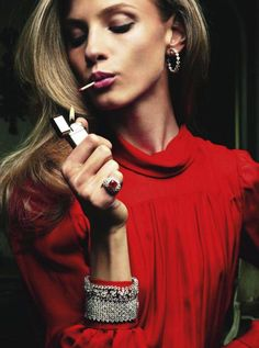 Anna Selezneva | Vogue Paris August 2011