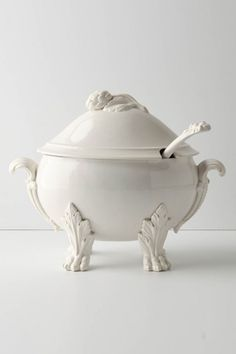 Beast's Feast Tureen, Anthropologie  plucked from a fairy-tale dining table