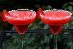 Receta para margaritas de fresa o frutilla