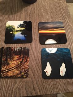 Coasters made from our best nature photographs