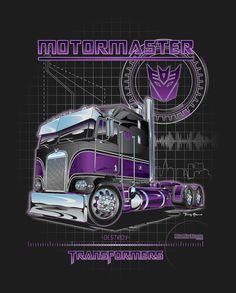 Transformers - Motormaster Big Rig Trucks, Cool Trucks, Semi Trucks, Custom Big Rigs, Custom Trucks, Trailers, Transformers Decepticons, Transformers Prime, Cool Car Drawings