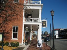 Ohio's oldest continuously operated hotel in Lebanon holds a unique dining experience, complete with antique furnishings and historic rooms upstairs where famous individuals such as Harriet Beecher Stowe and U.S. Presidents have stayed. The Golden Lamb Inn is located at 27 S Broadway St., Lebanon, OH 45036.