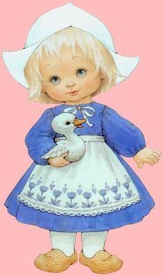 Ruth Morehead Graphics | Ruth Morehead Art ♥ / Little dutch girl.