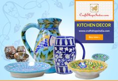 Buy online kitchen decor products with #craftshopsindia