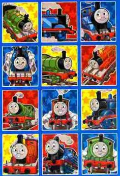Thomas The Tank Engine 2 Sticker Sheets - birthday party favours