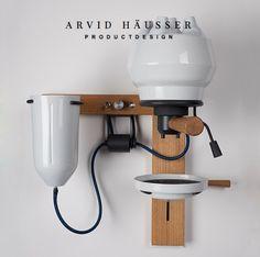 SEPPL Espresso Machine in Porcelain by Arvid Häusser