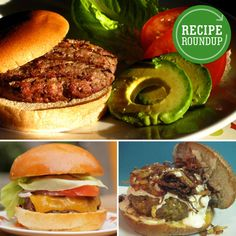 10 Varieties of Grilled Burgers: From Traditional Beef to Black Bean - www.yumsugar.com