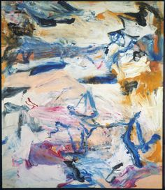 Willem de Kooning (Dutch American, 1904-1997), The North Atlantic Light, 1977. Oil on canvas, 202.5 x 177 cm, The Stedelijk Museum, Amsterdam.