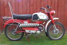 Mobylette Sports Moped 50cc Motorcycle Retro 70's Chopper Runner V5 Rare | eBay