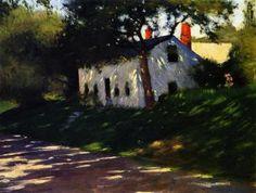 Roadside Cottage, Medfield, Mass. - Dennis Miller Bunker