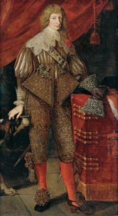 History of fashion — 1630 Unknown artist - Karl Eusebius von...