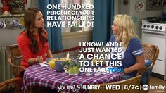"Oh Gabi... ""I know! And I just wanted a chance to let this one fail too!"" - Gabi 