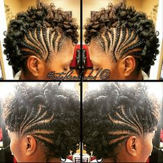Cute curl hawk @kiabia87  Read the article here - http://www.blackhairinformation.com/hairstyle-gallery/cute-curl-hawk-kiabia87/
