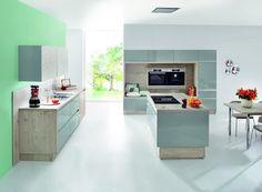 Kitchen Gallery, Kitchen Island, Modern, Home Decor, Grey Kitchens, Island Kitchen, Trendy Tree, Decoration Home, Kitchen Photos
