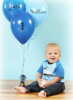 First birthday pic idea
