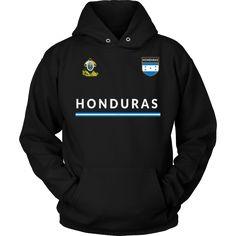 Bornmay.com ~ Products ~ Honduras T-shirt Hondurans Flag Tee Retro Soccer Jersey Tee ~ Shopify