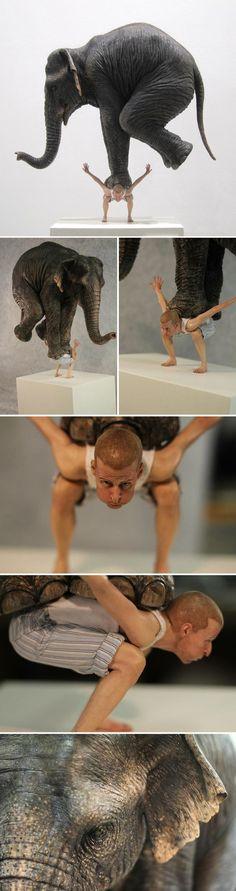 Escultura de animais