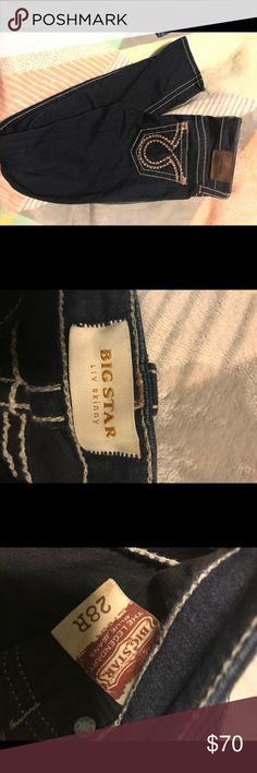 PRICE DROP! Big star- liv skinny jeans. Worn twice. Perfect condition. 28R. Big Star Jeans Skinny