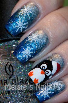 Melsie's Nails: Let it Snow