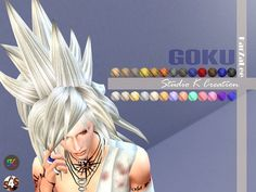 Studio K Creation: Gocu animate hairstyle 35 • Sims 4 Downloads