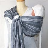 Someday a ring sling? Silver Waves - DidySling - Didymos - Woven Wrap - Ring Sling