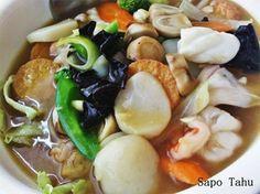 Resep Sapo Tahu http://resep4.blogspot.com/2014/01/resep-sapo-tahu-oriental-enak.html Resep masakan Indonesia