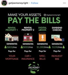 Pay your bills. Financial Peace, Financial Literacy, Financial Tips, Business Money, Business Tips, Do It Yourself Furniture, Budgeting Finances, Investing Money, Business Motivation