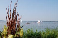 Segeln auf dem Zwischenahner Meer in Bad Zwischenahn.