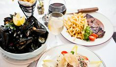 $49 - French Dinner for 2 w/Wine by Bloomies, 55% Off | Travelzoo Local Deals