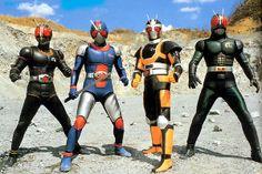 Kamen Rider Black, Bio Rider, Robo Rider, Black RX || 仮面ライダーBLACK、RX バイオライダー、RX ロボライダー、BLACK RX