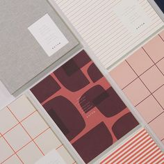Favorite color combo   #notemstudio #notem #stationery #paperlove #happyvalentines #love Corporate Design, Branding Design, Graphic Art, Graphic Design, Paper News, Stay In Bed, Print Layout, Fresh Start, Abstract Pattern
