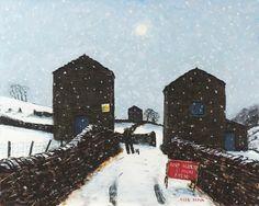 Walking In The Dales In Winter - Peter Brook
