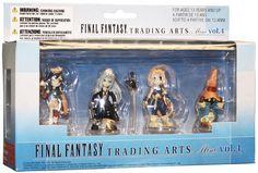 Final Fantasy Trading Arts Vol. 04 Mini Figure Set of 4 - HobbyStuf